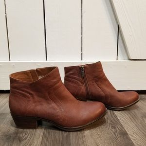 Lucky brand leather brolley ankle booties 8